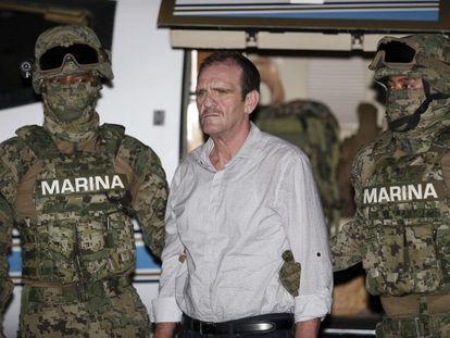 Héctor Palma Salazar, alías 'El Güero Palma', tras ser detenido en 2016.