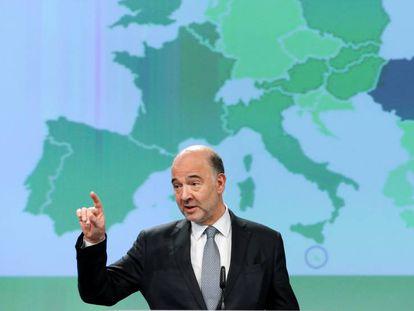 El comisario de Economía, Pierre Moscovici.