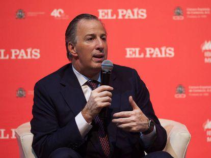 José Antonio Meade, en el foro de EL PAÍS.