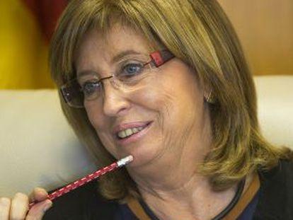 Irene Rigau, consejera de Enseñanzaem