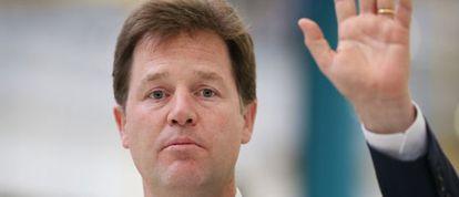 Nick Clegg, es el líder de los Liberal-Demócratas británicos.