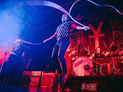 Los estadounidenses Vintage Trouble en concierto, dentro del 10º aniversario de SON Estrella Galicia.
