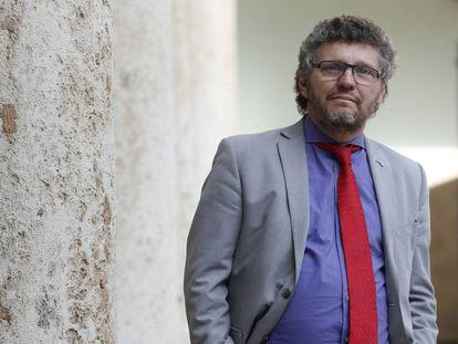 Salvioli, en un congreso sobre derechos humanos celebrado en Valencia en 2018.