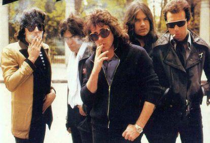 El grupo Burning, con Toño Martín y Pepe Risi, en una imagen de archivo.