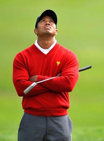 Tiger Woods, el pasado mes de octubre.
