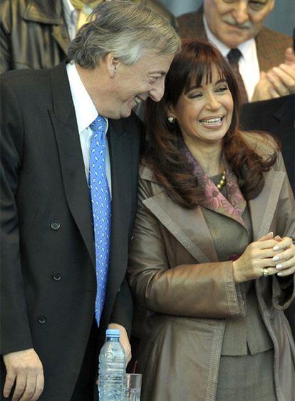 El matrimonio Kirchner.