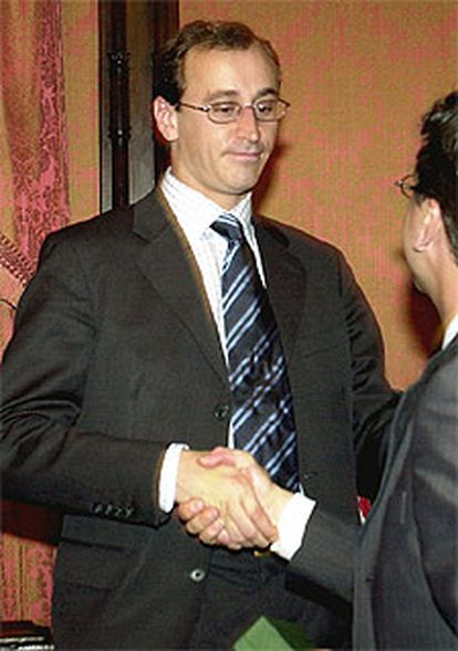 El alcalde de Vitoria, Alfonso Alonso.