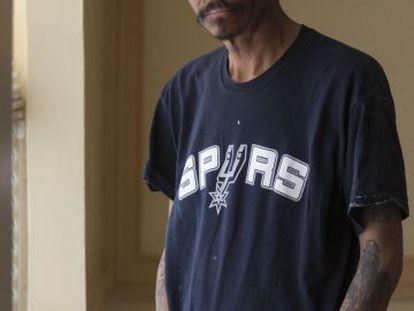 Lupillo, exconvicto y una persona sin hogar en Ciudad Juárez.
