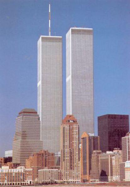 Las torres gemelas de Nueva York, antes de que sufrieran el atentado del 11-S.