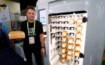 El BreadBot, en el CES de Las Vegas