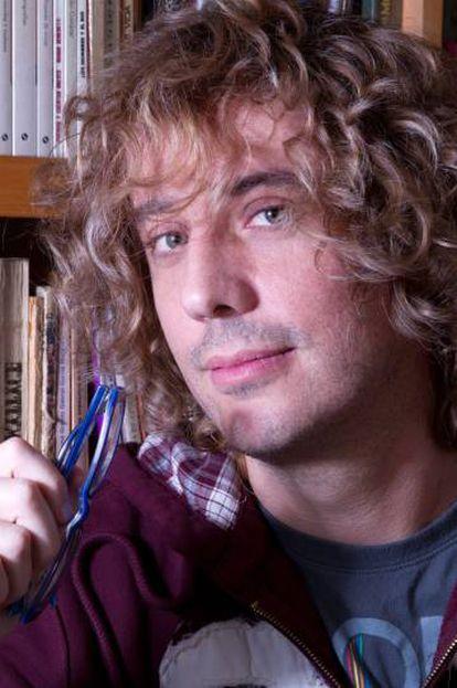 El escritor chileno, José Ignacio Valenzuela, conocido como 'Chascas'.