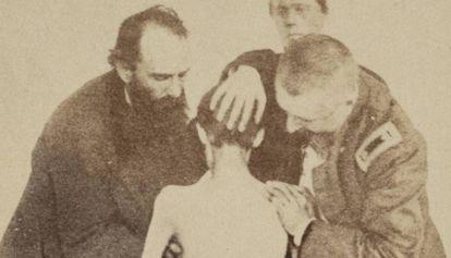 Un soldado de la Unión, tras ser liberado de una prisión confederada.