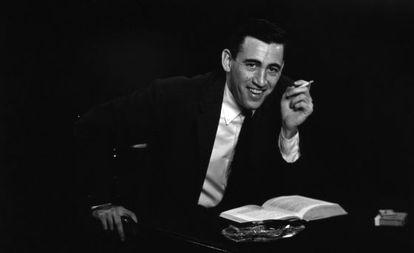 Retrato de J. D. Salinger.