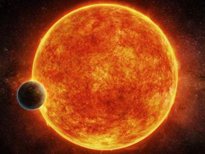 Un equipo de astrónomos halla un mundo habitable a 40 años luz que podría ser un  punto azul pálido  como la Tierra vista desde el espacio
