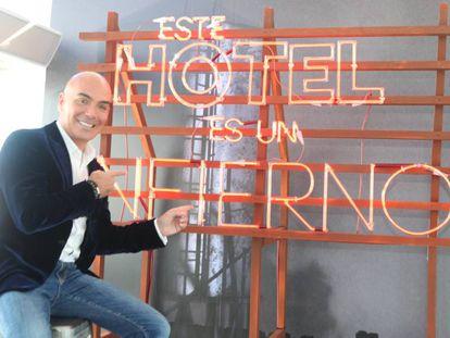Kike Sarasola, el Chicote de los hoteles