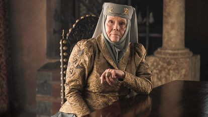 Diana Rigg, en 'Juego de tronos'.