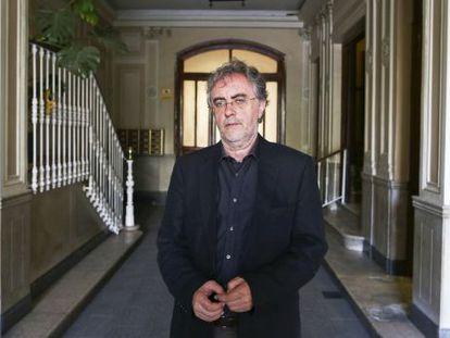 Tomás Pérez Vejo, hace dos semanas, a las puertas de su despacho en Madrid.