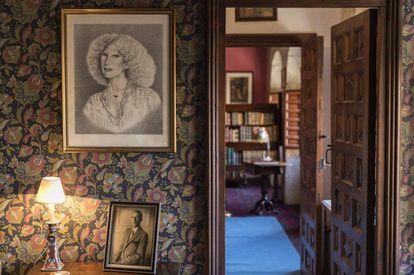Retratos de la duquesa de Alba y de Jacobo Jacobo Fitz-James Stuart, abuelo del actual duque de Alba.