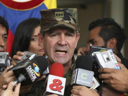 El general Montoya, en una imagen de 2007