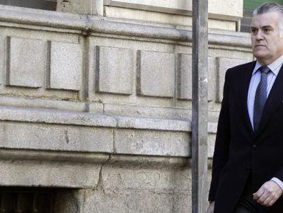 El extesorero Luis Bárcenas, el pasado 1 de abril.