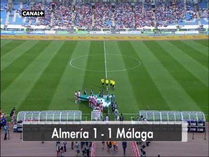 Almería 1 - Málaga 1