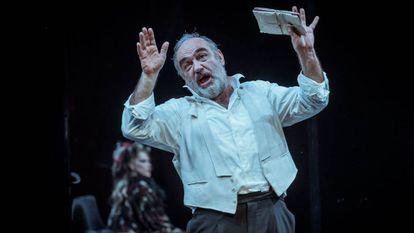 Francesc Orella, en un momento de 'L'últim acte'.