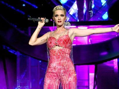 Katy Perry durante la edición de 2019 del festival Coachella, en Indio, California.