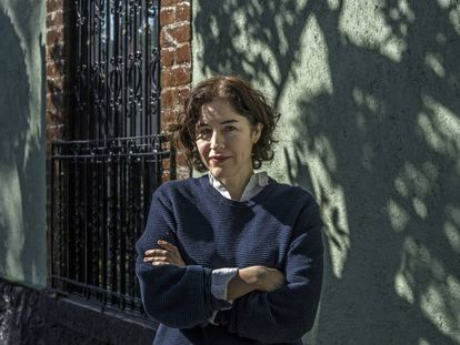 Guadalupe Nettel, en Ciudad de México en 2020.