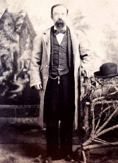 Jack Daniel a finales de 1800.