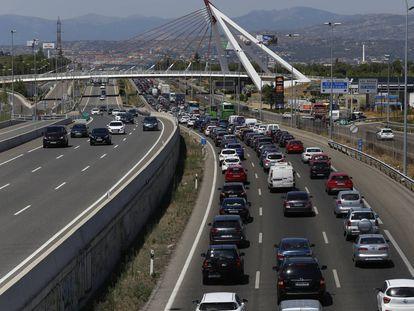 Autovía A-6 Madrid-La Coruña.