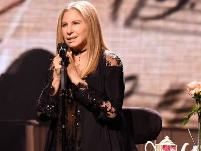 Barbra Streisand, en el Barclays Center de Brooklyn.