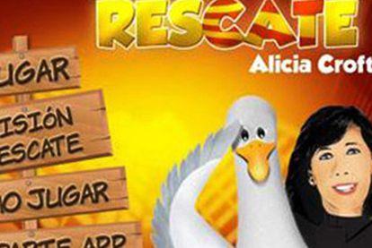 Imagen del juego interactivo en http://www.ppcatalunya.com/rescate.