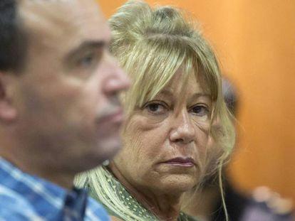 La exalcaldesa de Marbella Marisol Yagüe, durante el juicio el pasado julio.