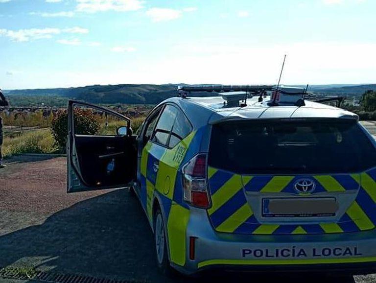 Coche de la policía local de Rivas Vaciamadrid.