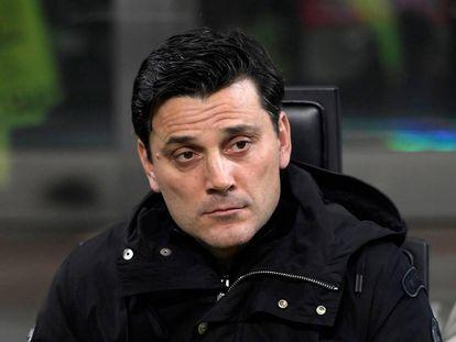 El entrenador italiano Vincenzo Montella.