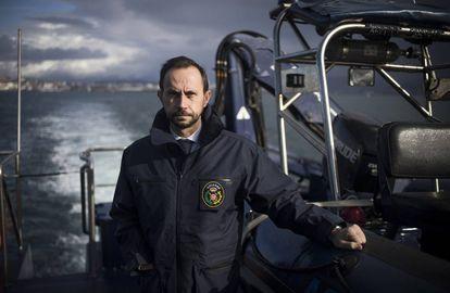 Jaime Gayá, jefe de Aduanas de Galicia.