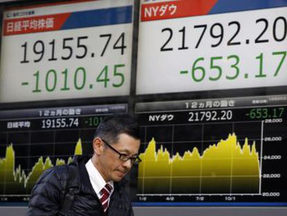 Wall Street vivió la peor Nochebuena de su historia con una caída del 2,91%, y Tokio se desploma un 5%