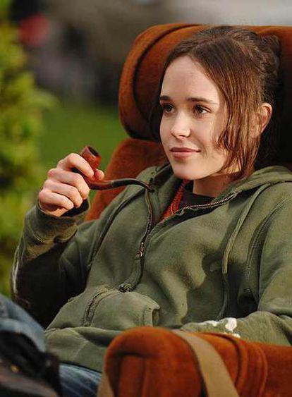 Ellen Page, en un fotograma de<i> Juno.</i>