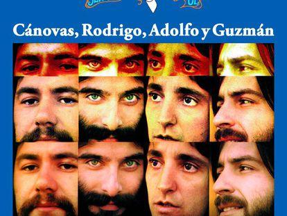 Álbum 'Señora azul', de Cánovas, Rodrigo, Adolfo y Guzmán, del año 1974