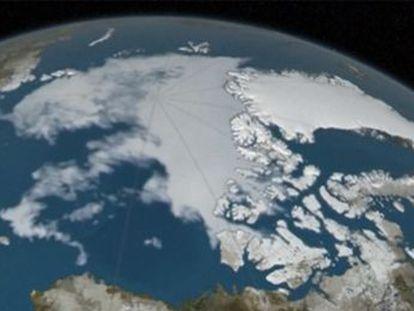 La capa alcanzó en marzo su menor extensión en invierno desde que la NASA lo monitoriza por satélite