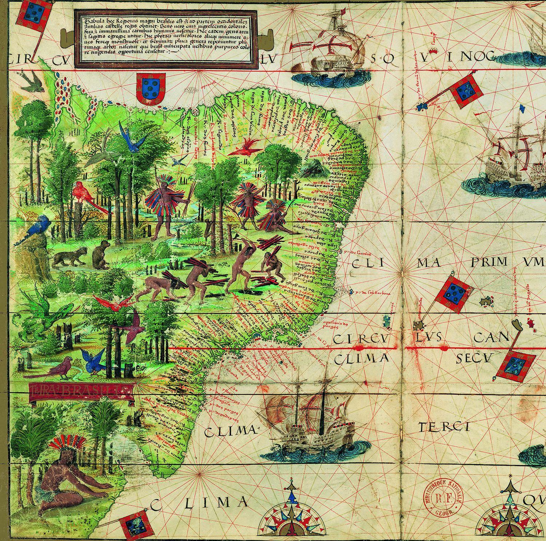 Imagen del mapa que forma parte de la portada del libro. / CSIC