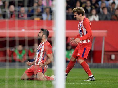El Sevilla se enfrenta al Atlético de Madrid en la jornada 25 de la Liga Santander