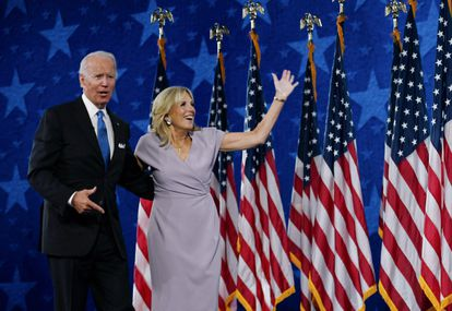 Joe y Jill Biden, en Delaware el pasado agosto.