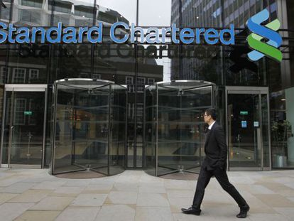 La sede de Standard Chartered en Londres.