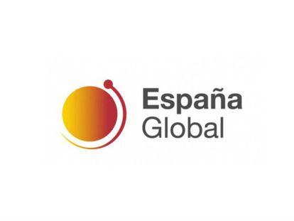 El logotipo de España Global, presentado a finales de 2018 por Irene Lozano y creado por la diseñadora Myriam Maneiro. |
