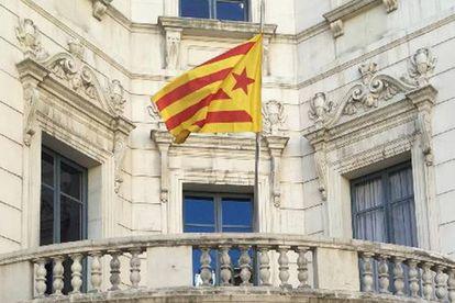 Fachada del Ayuntamiento de Berga.