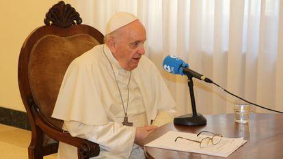 Entrevista al Papa Francisco en la cadena COPE.