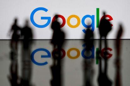 El logo de Google, en Bruselas.