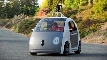 El prototipo de coche autotripulado Google Car.