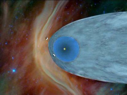 La nave 'Voyager 1' ha salido ya al espacio interestelar